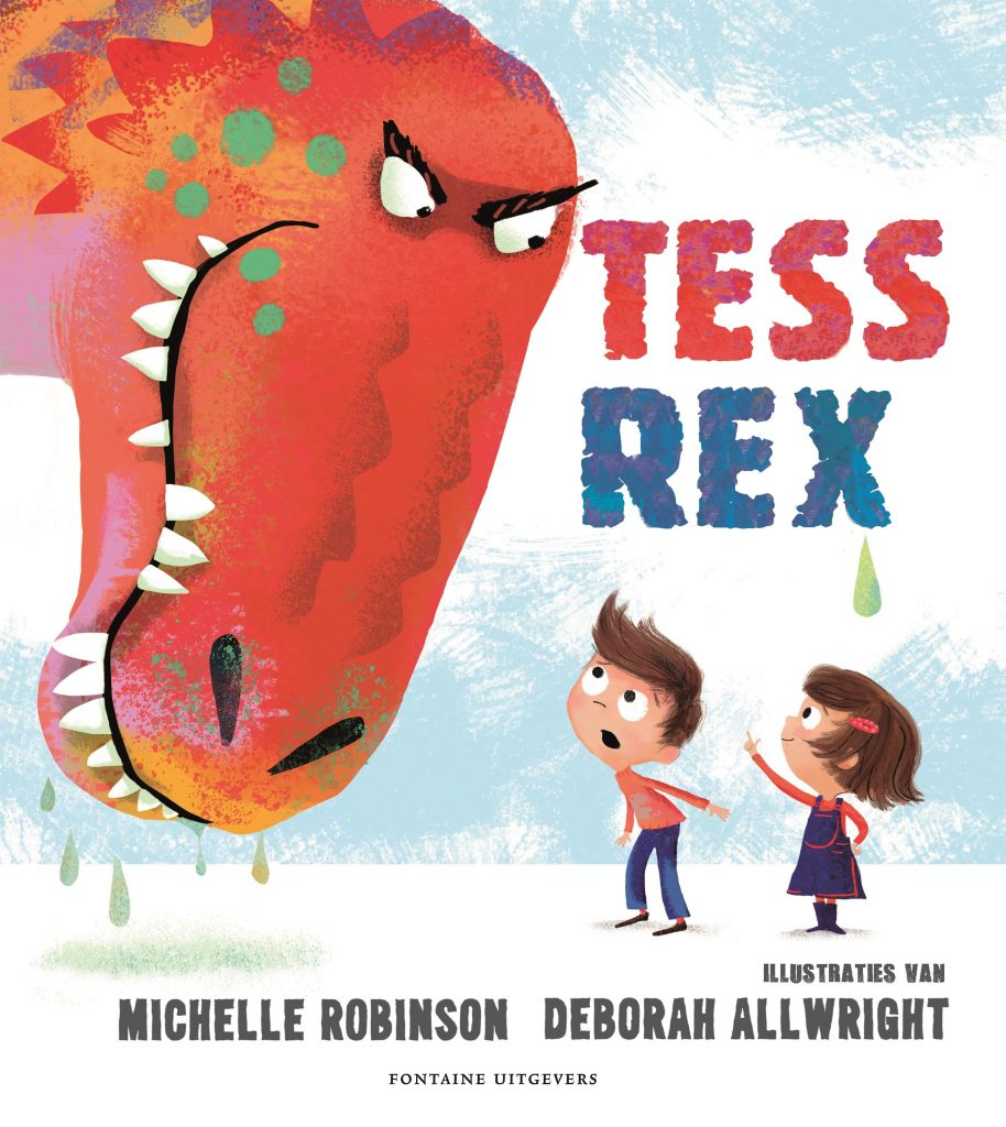 Cover van prentenboek Tess Rex