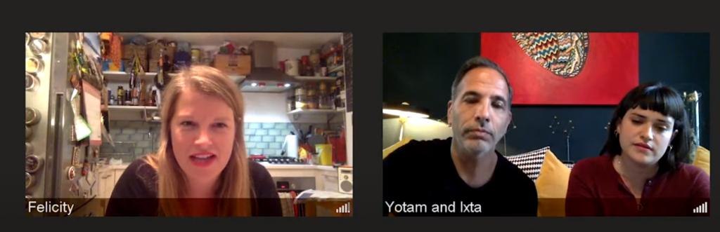 Yotam Ottolenghi en Ixta Belfrage over Flavour. Interview met The Guardian.